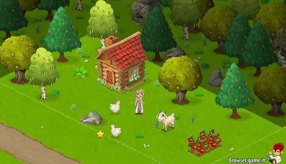 Animali e contadina daisyland